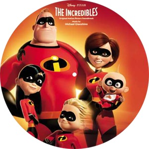 The Incredibles Picture Disc Michael Giacchino