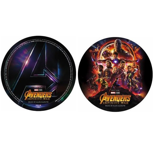Avengers: Infinity War OST [picture disc] - Alan Silvestri