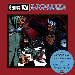 Gza liquid swords set for reissue with chess box set on get on.