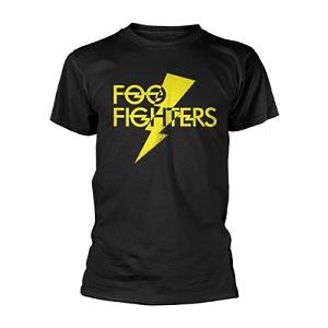 Foo Fighters T Shirt Lightning Strike Banquet Records