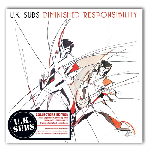 Uk Subs Diminished Responsibility Banquet Records