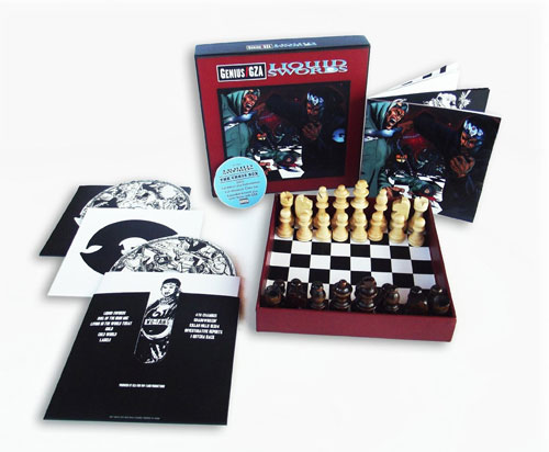 Gza liquid swords: the chess box (2xcd deluxe edition + chess set).